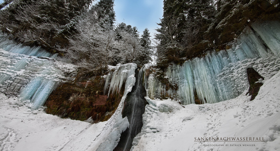 """ Sankenbachwasserfall """