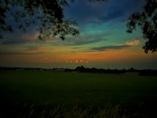 Sankt Augustin / Hangelar: Wolken