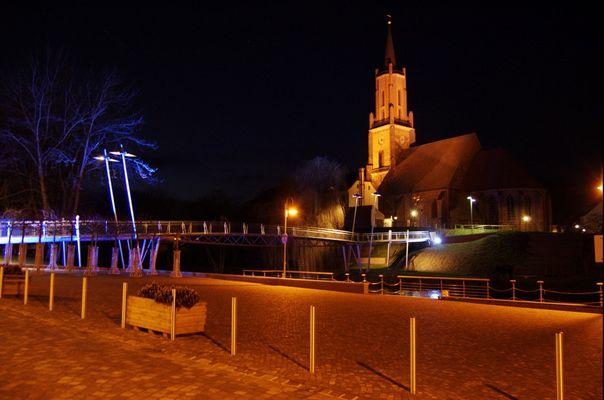 Sankt Marien Andreaskirche bei Nacht