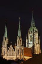 Sankt Pauls Kirche an der Theresienwiese