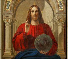 SANKT PETERSBURG (10) - Christus-Mosaik in der Isaak-Kathedrale