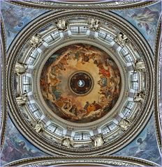 SANKT PETERSBURG (11) - Kuppel-Mosaik in der Isaak-Kathedrale