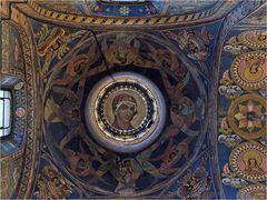 """SANKT PETERSBURG (12) - Deckenmosaik in der """"Blutkirche"""""""