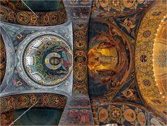 """SANKT-PETERSBURG (7) - Deckenmosaik der """"Blutkirche"""""""