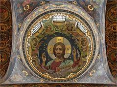 """SANKT PETERSBURG (9) - Kupelmosaik in der """"Blutkirche"""""""