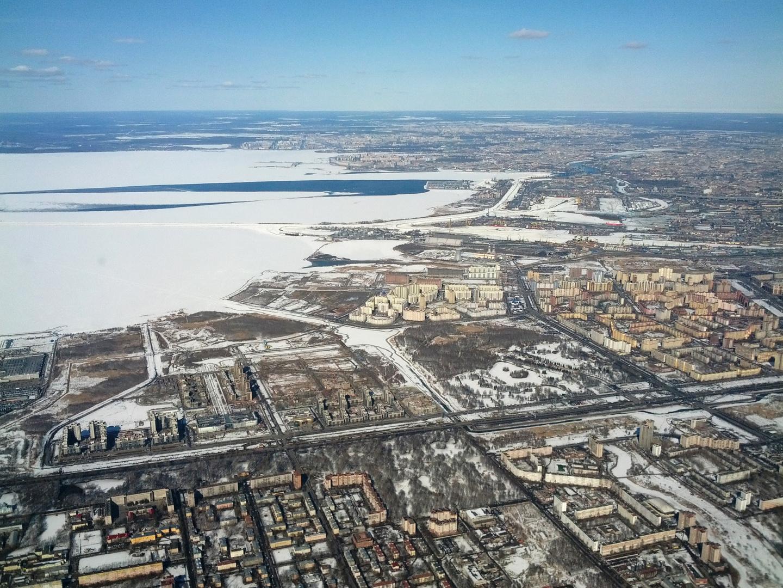 Sankt-Petersburg von oben