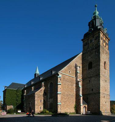 Sankt Wolfgangskirche in Schneeberg