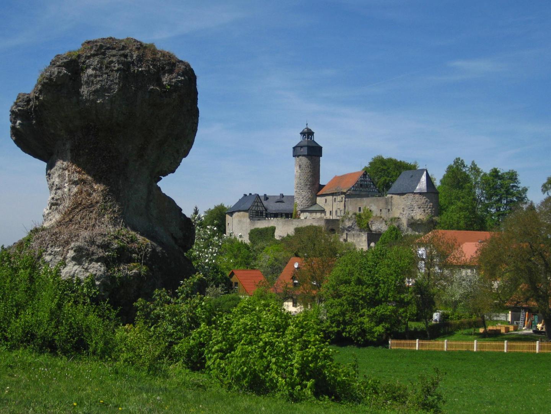 Sanspareil mit Burg Zwernitz