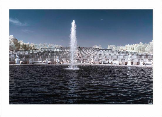 Sanssouci Brunnen IR