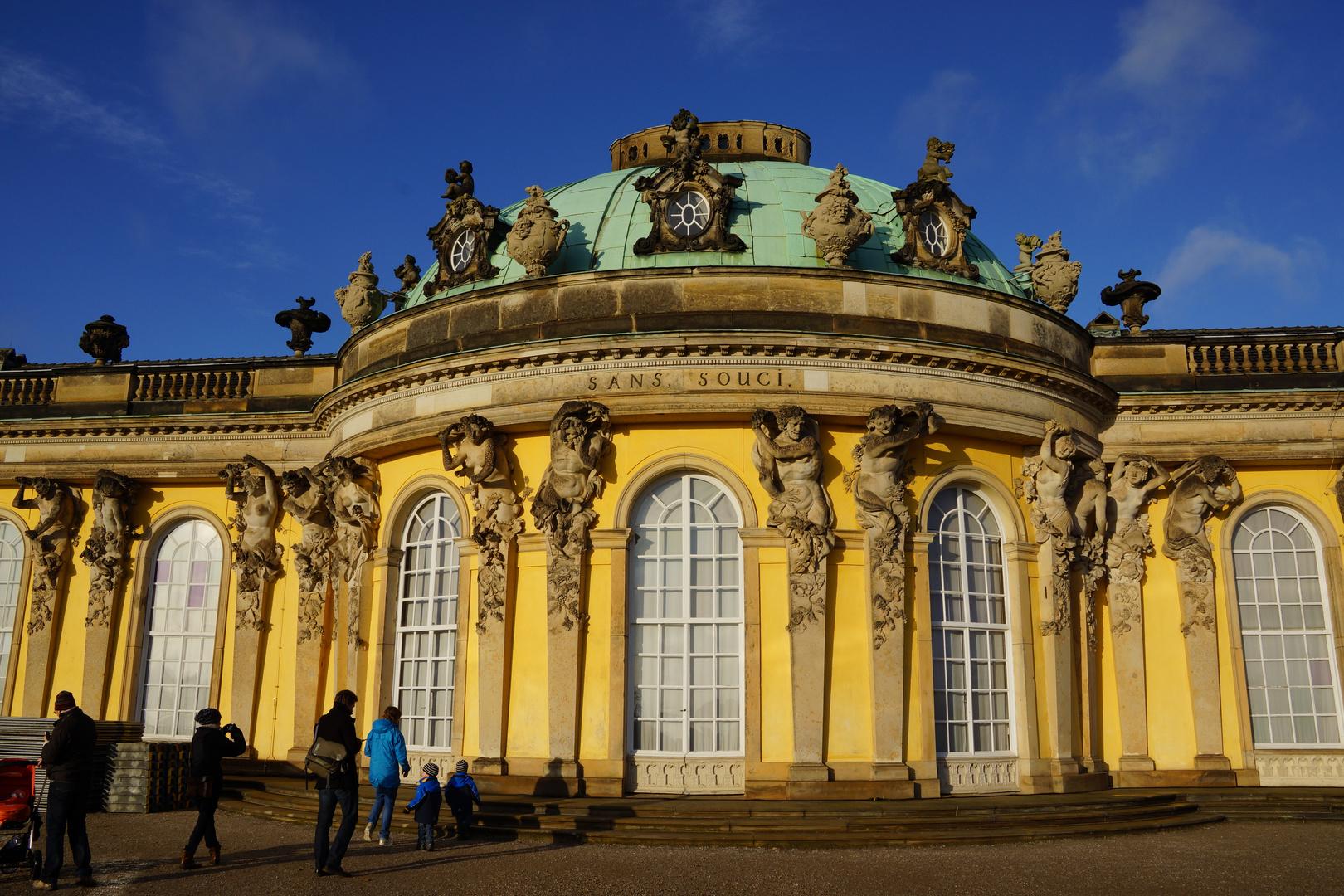Sanssouci - ich wünsche allen Freunden und Freundinnen in der fc ein sorgenfreies 2012