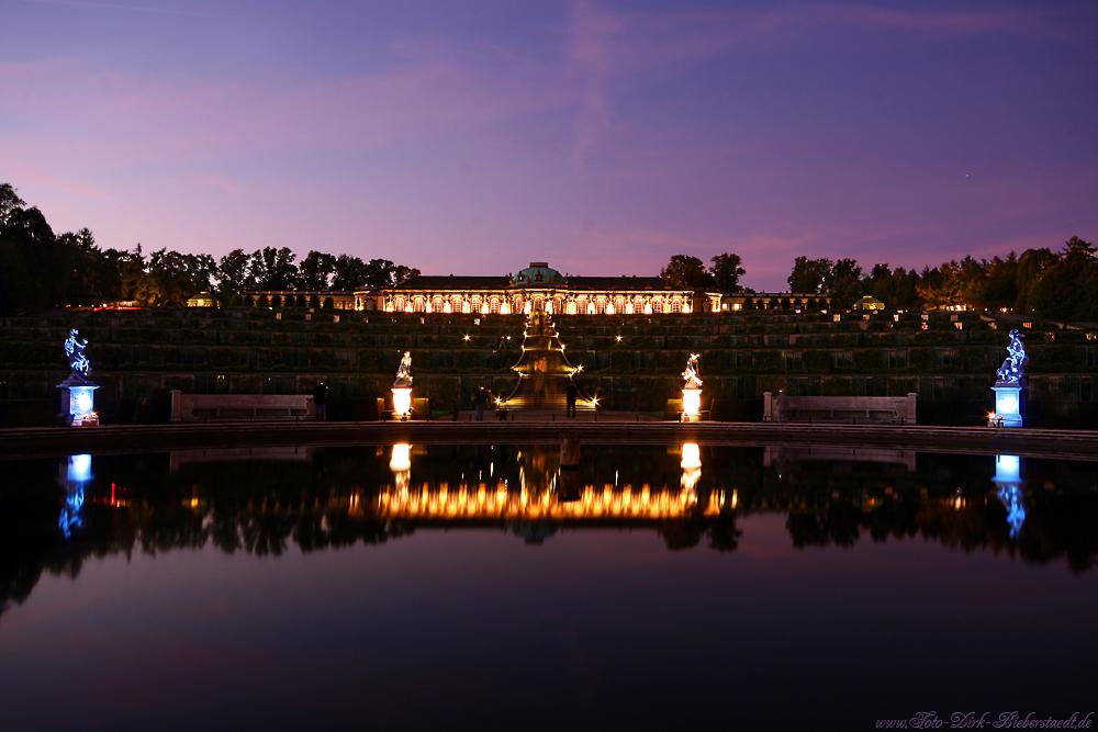 Sanssouci im Lichterglanz :)