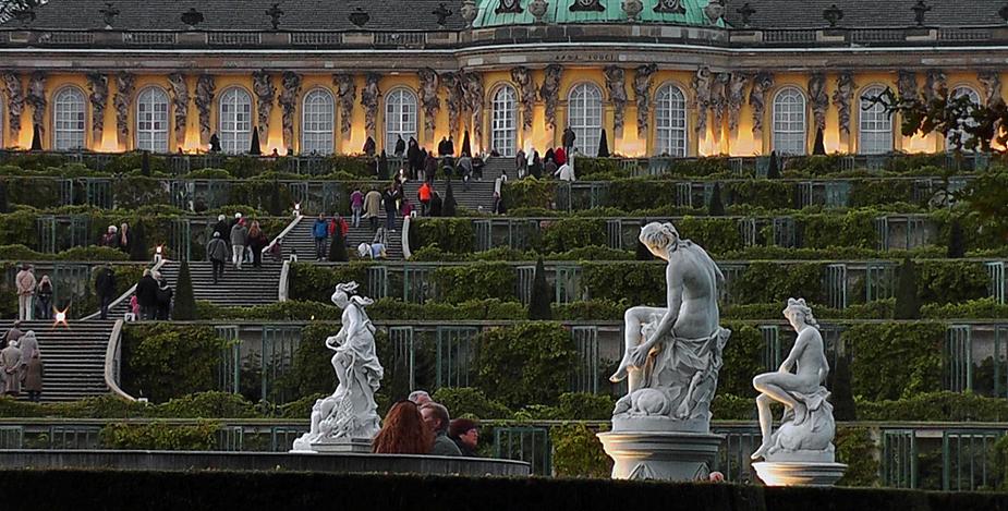 """""""Sanssouci im Lichterglanz"""" ... Titel der Veranstaltung am 13.10.12"""