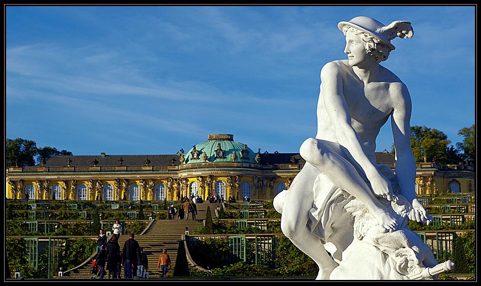 Sanssouci im Oktober