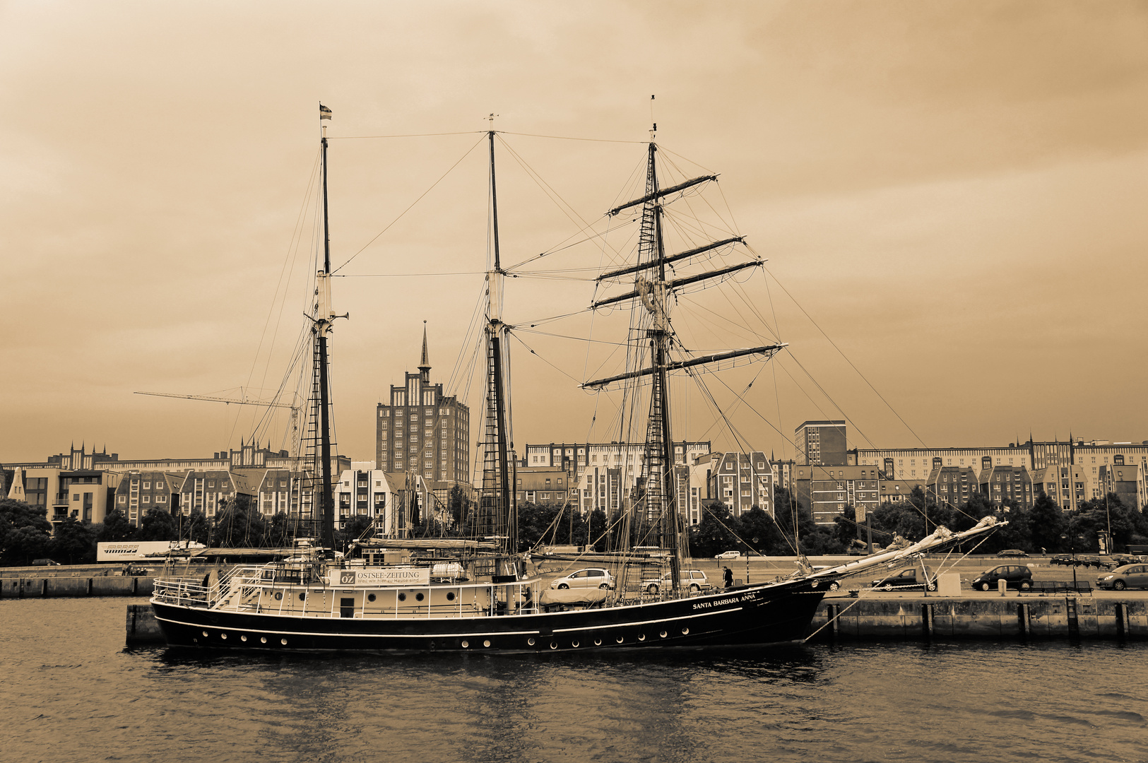 Santa Barbara Anna (Stadthafen Rostock)