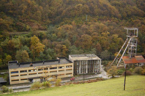 Santa Barbara colliery; Asturias - Northern Spain.