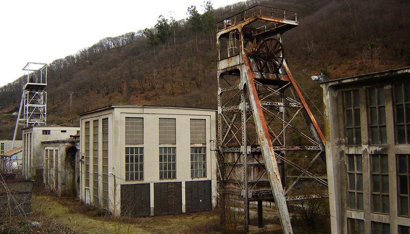 Santa Barbara mine, Asturias, northern Spain.