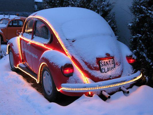 Santa Claus... bald fährt er wieder...