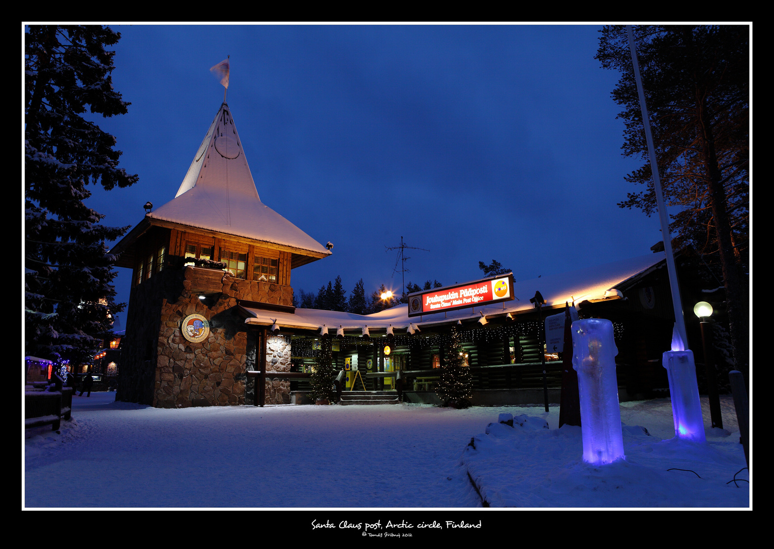 .:SANTA CLAUS POST, ARCTIC CIRCLE II:.