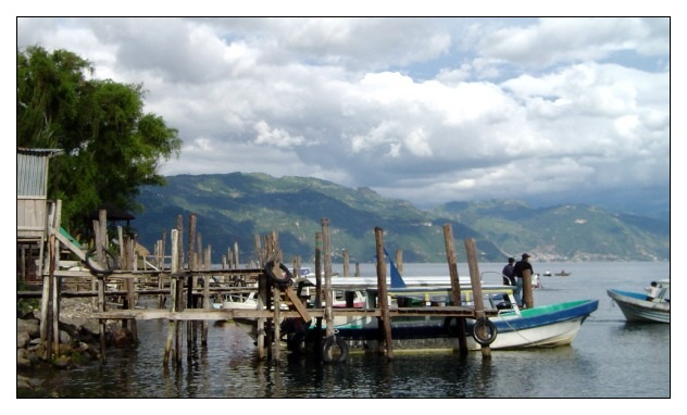 Santa Cruz am Lago de Atitlan