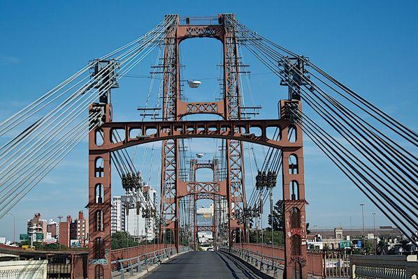 Santa Fé, die Brücke