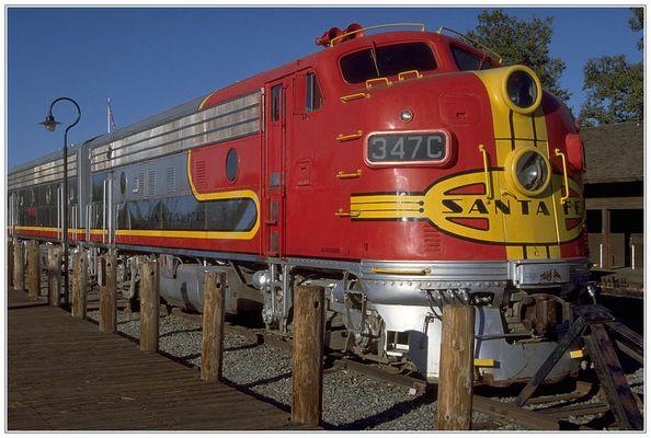 Santa Fe Diesellok