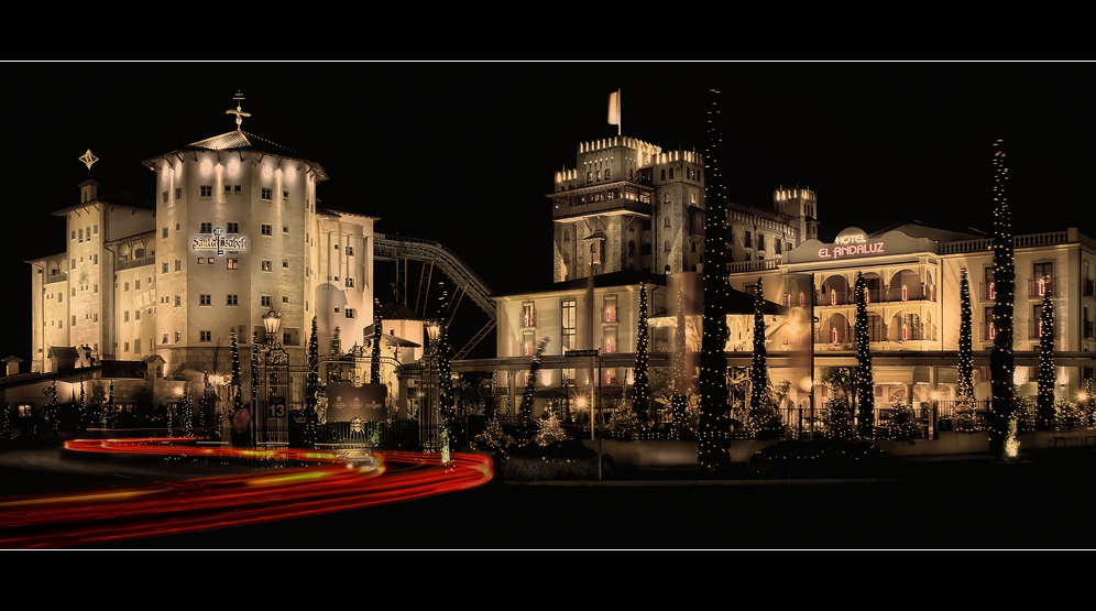 Santa Isabel - Castillo Alcazar und Hotel Andaluz
