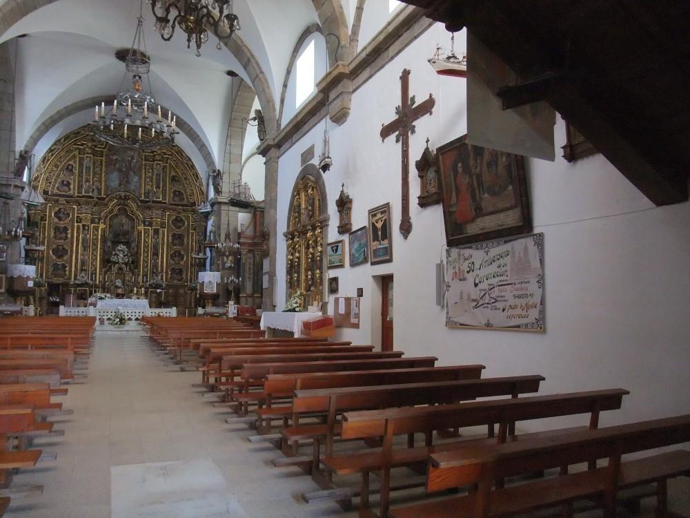 Santa María de Muxía - Die atemberaubendste Kirche der Welt - Innenansicht