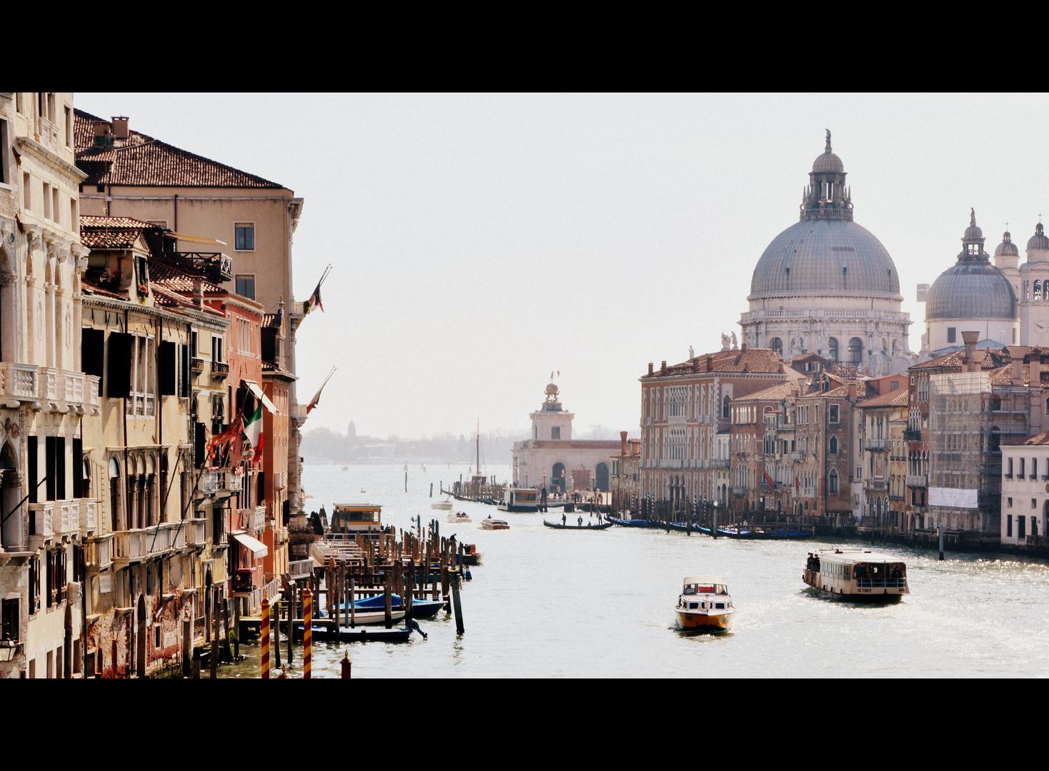 Santa Maria della Salute und Canal Grande