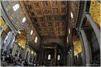 Santa Maria Maggiore - durch das FischAuge des Betrachters - Rom (01/2011)