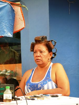 Santa Marta woman