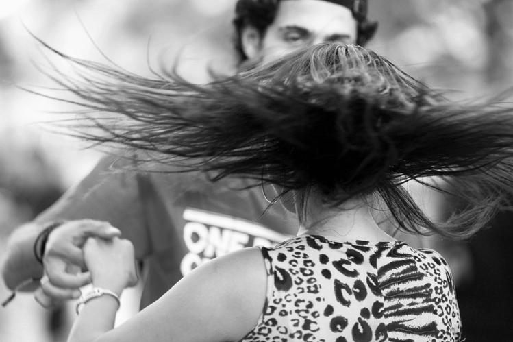 Santa Monica Promenade Dancers 2011-07-17 #14