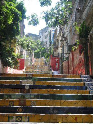 "Santa Teresa - Die Treppe ""Escaderia Selaron"""
