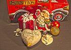 Santa und seine Geschenke