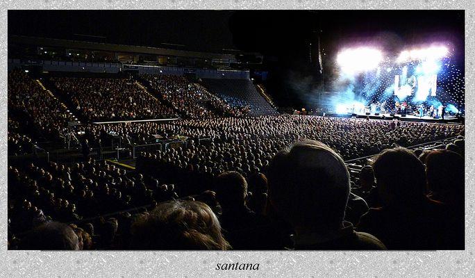 Santana in der o2 world Arena Hamburg