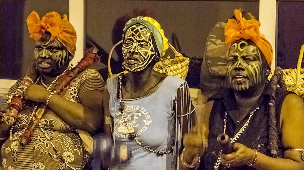 Santeria Tanz in Santiago de Cuba