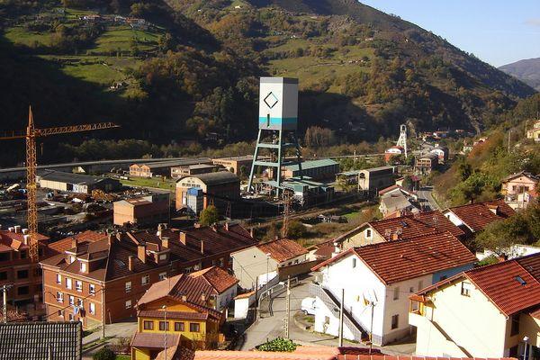 Santiago and San Jorge collieries; Asturias - Northern Spain