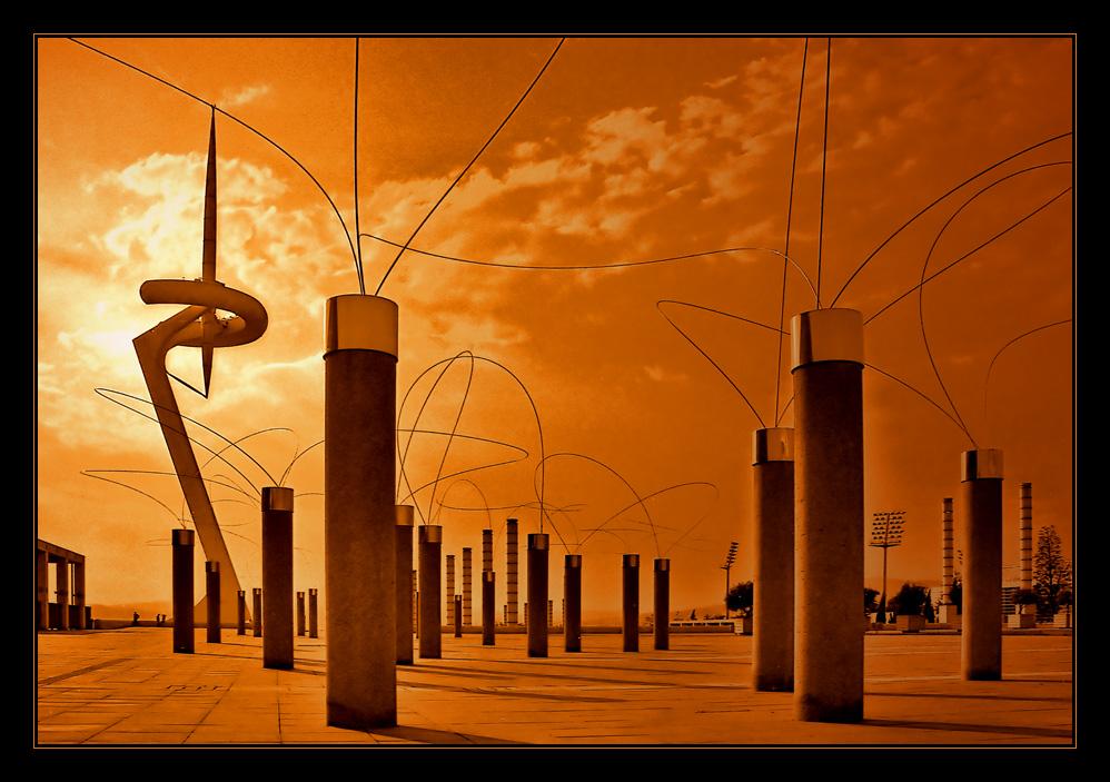 Santiago Calatrava in Orange