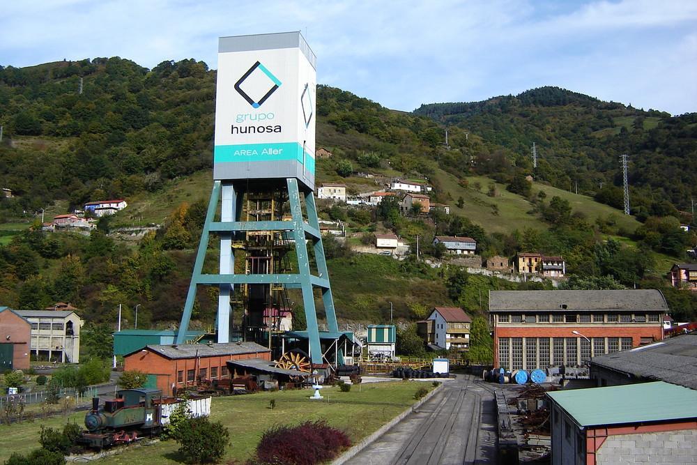 Santiago colliery; Asturias - Northern Spain