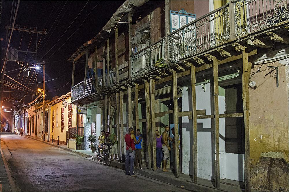 Santiago de Cuba bei Nacht 2