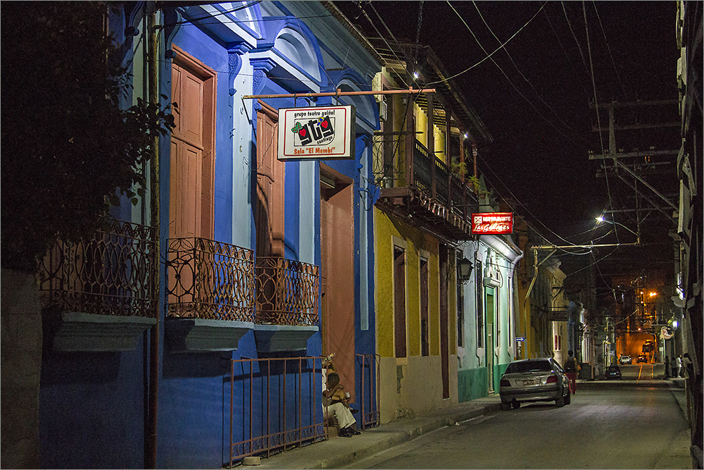 Santiago de Cuba bei Nacht 3