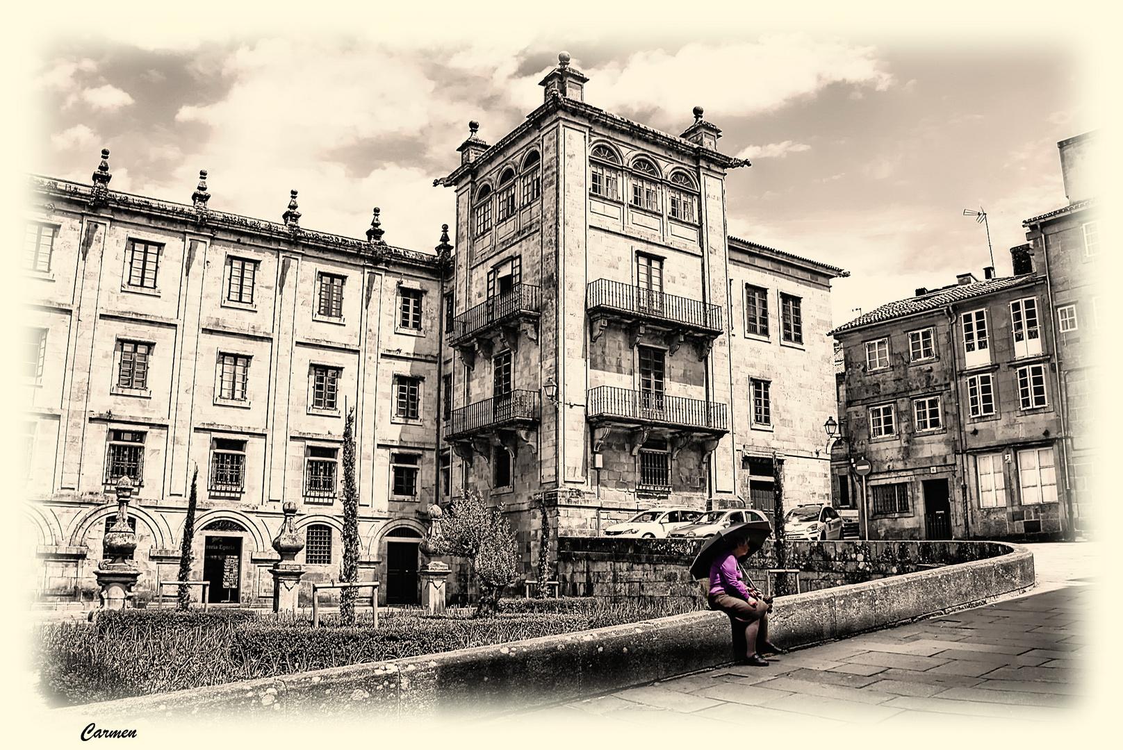 Santiago, esa bella ciudad...