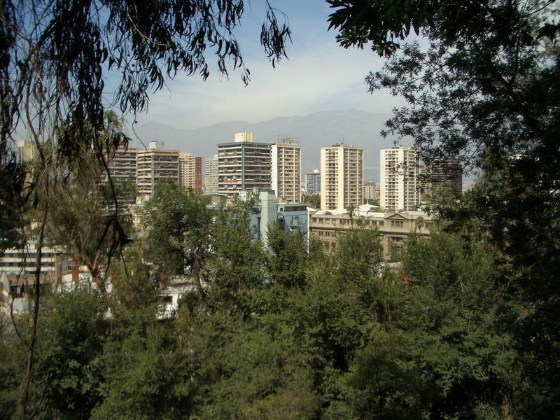 Santiago im Grünen