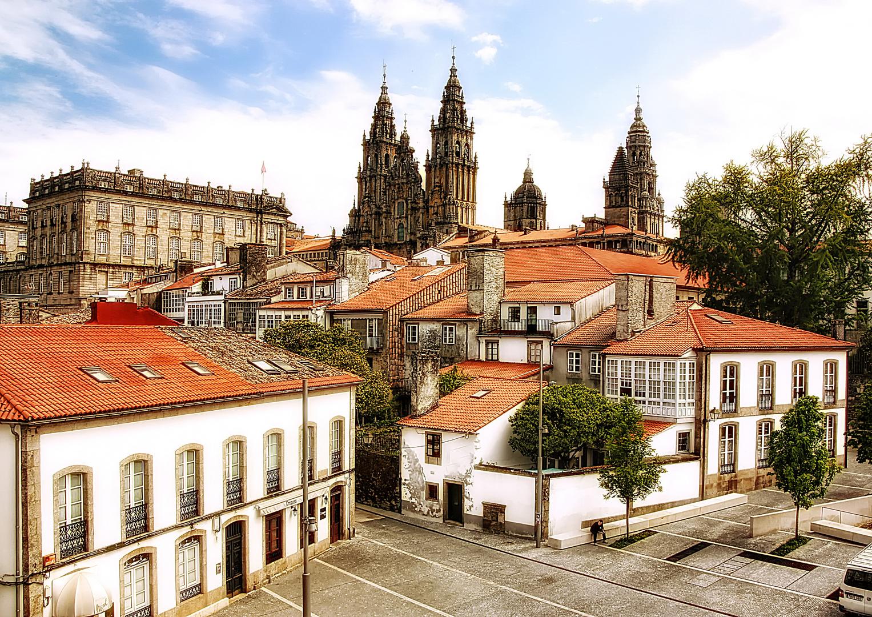 Santiago...una bella ciudad (Dedicada a Juan R)