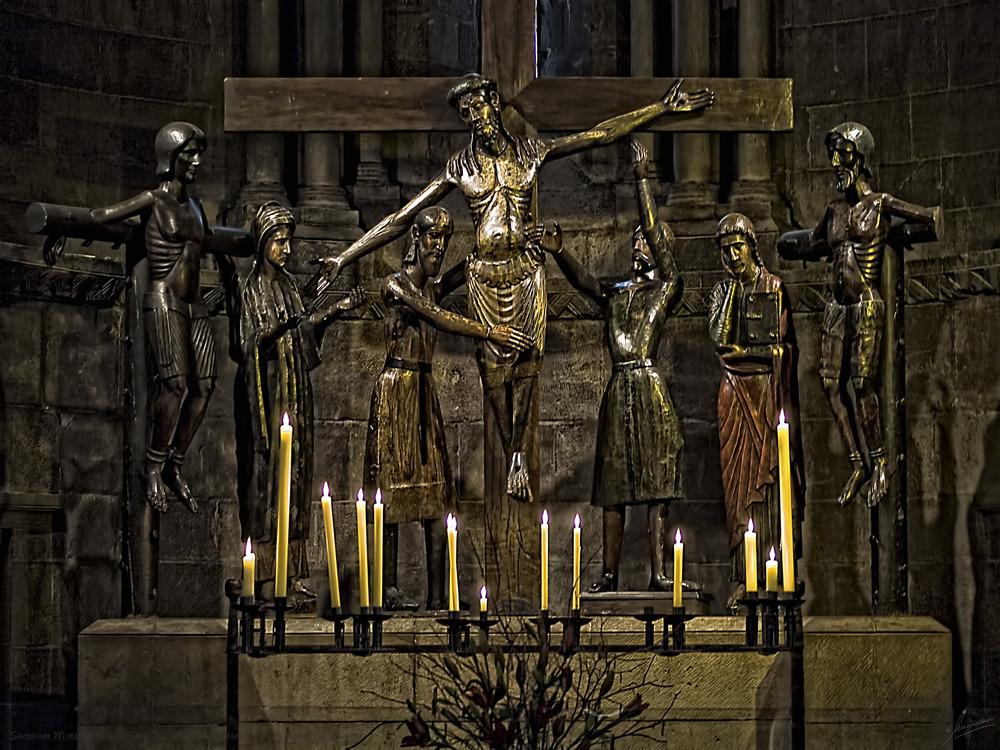 Santíssim Misteri Monestir Sant Joan de les Abadeses (Ripolles Girona Catalunya)