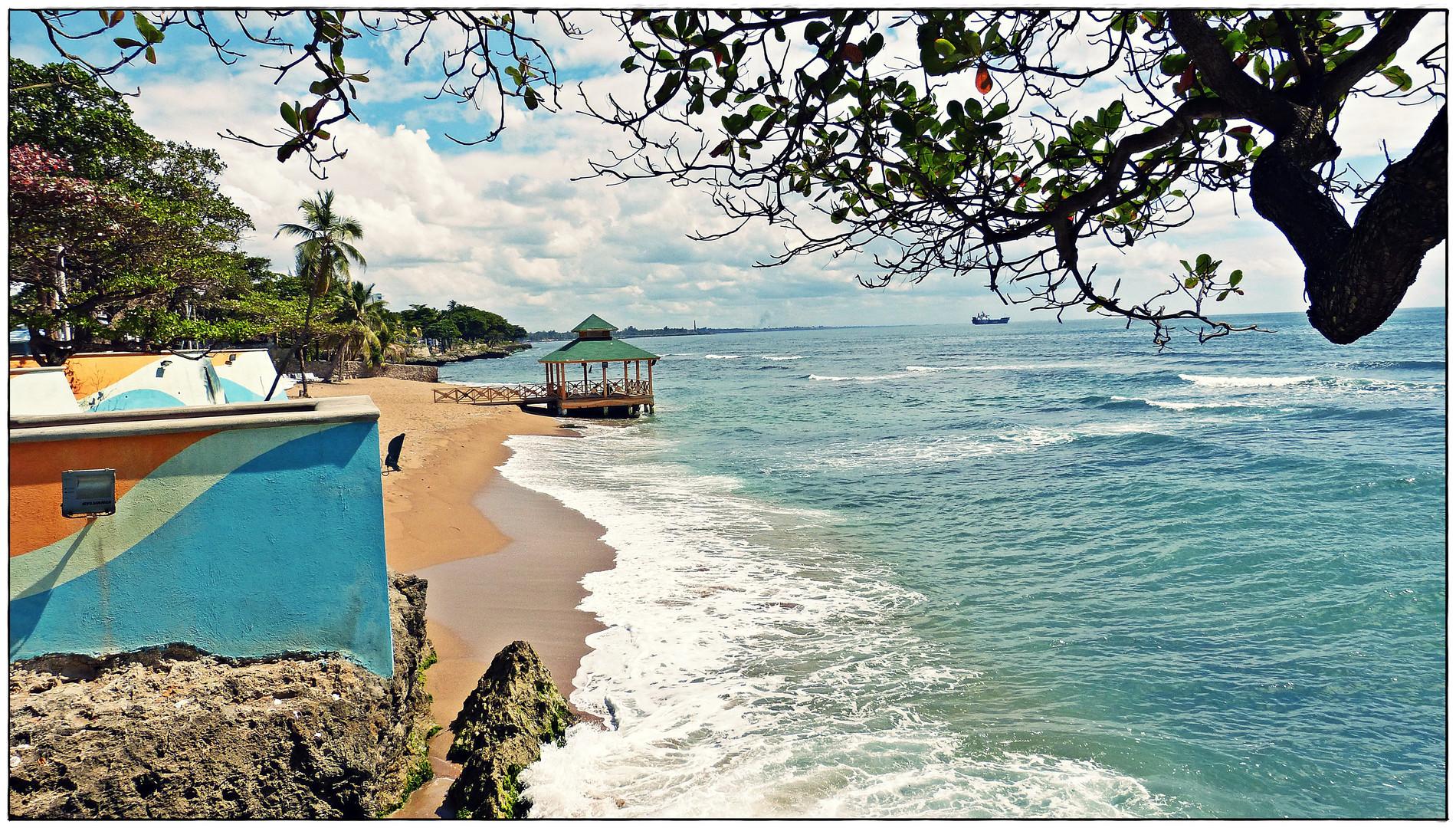 Santo Domingo - Stadtstrand Playa de Güibia