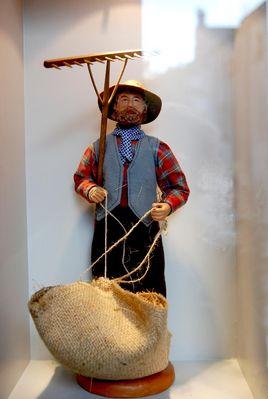 Santon de Provence au Musée des Baux