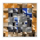 Santorin - Mosaik mit iPaint-Machine