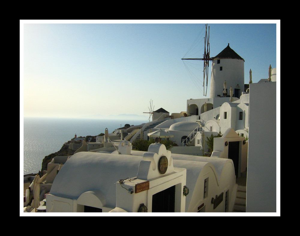 Santorin, ton moulin, ton moulin...