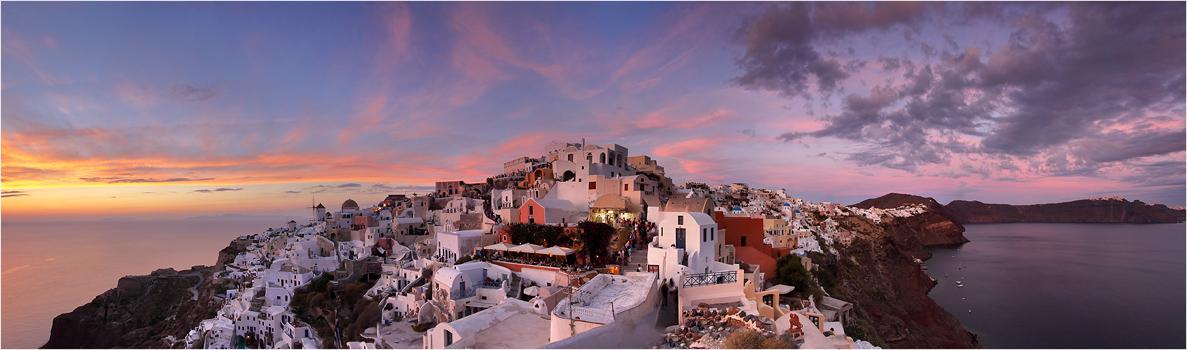 Santorini 180 Grad