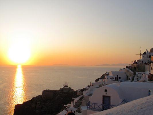 Santorini 2009 - Oia Sunset